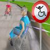 Dostihy 3D invalidný vozík hra