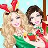 Princezná Barbie Vianočné hra