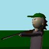 Medveď Hunter 3D hra