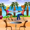 Plážová reštaurácia hra