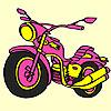 Veľká vyjadriť motorky sfarbenie hra