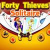 Štyridsať lúpežníkov Solitaire hra