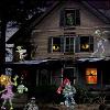 Strašidelný strašidelný dom hra