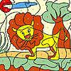 Little lion coloring hra
