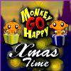 Opice ísť šťastný - vianočný čas hra