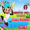 Peppys Pet Caring - Zippy Monkey hra