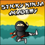 Sticky Ninja Academy hra
